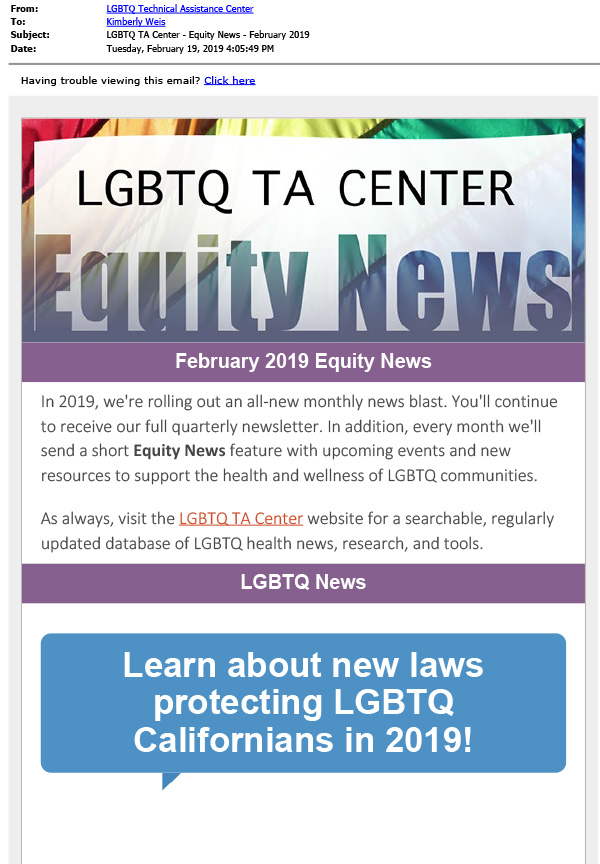 February 2019 Equity News cover page thumbnail